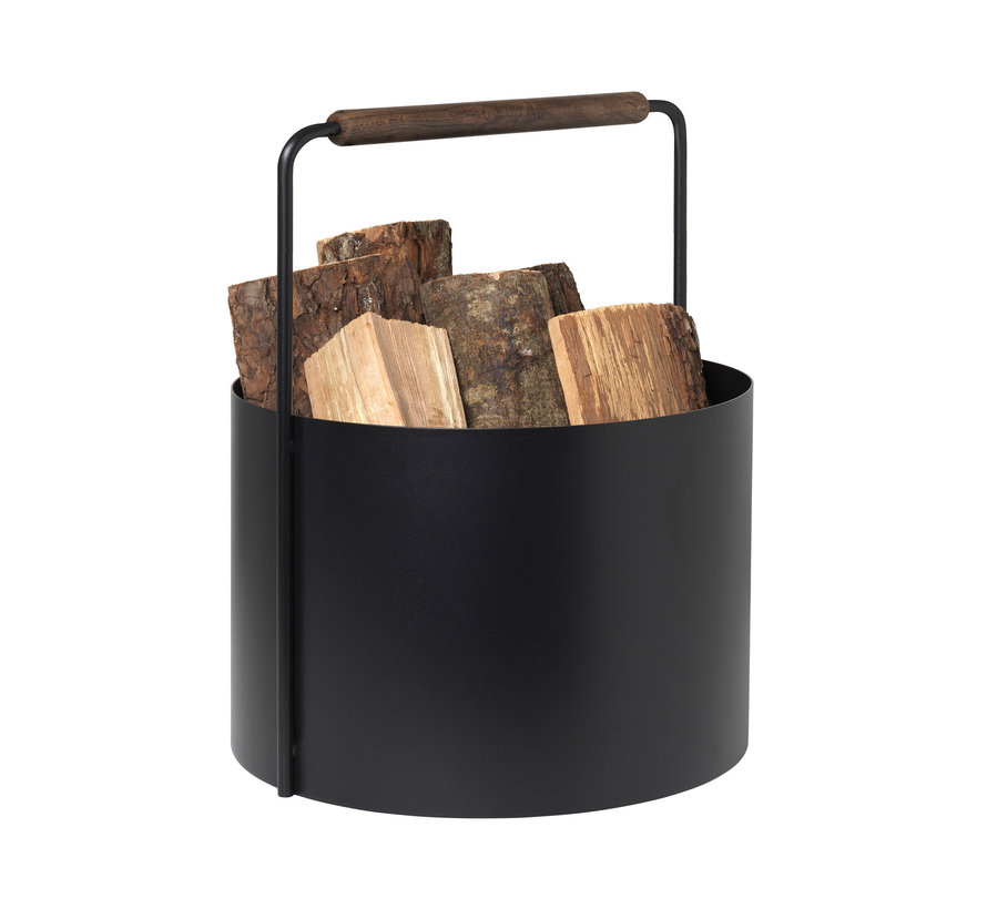 ASHI firewood basket (brown) 66 165