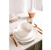 S&P MIELO 12-piece dinnerware set white