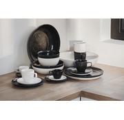 S&P MIELO 12-piece dinnerware set black