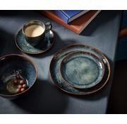 S&P MIELO 12-piece dinnerware set sapphire