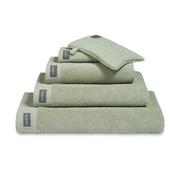 Vandyck Badehåndklæde 90x180 cm HOME Uni Smoke Green-814 (sæt / 2)