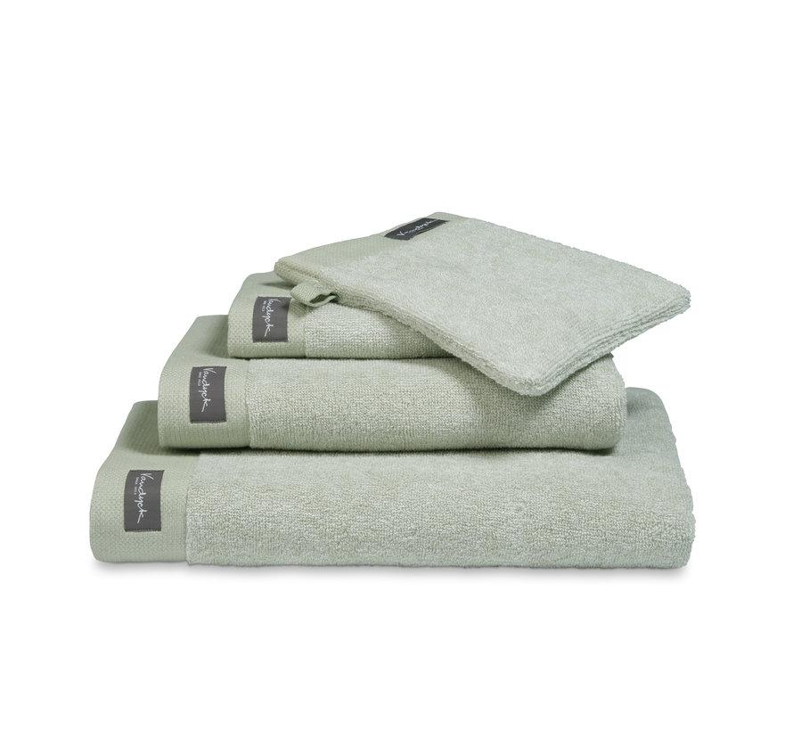 Bath towel 70x140 cm HOME Mouliné color Smoke Green (BAKC18201) - set/3