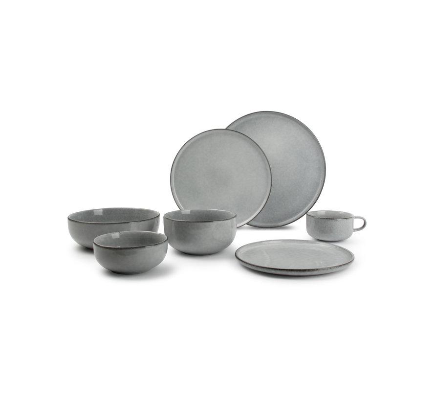 RELIC II serving dish 28 cm blue (850570)