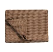Vandyck HOME Pique waffle blanket 160x250 cm Brownie-168