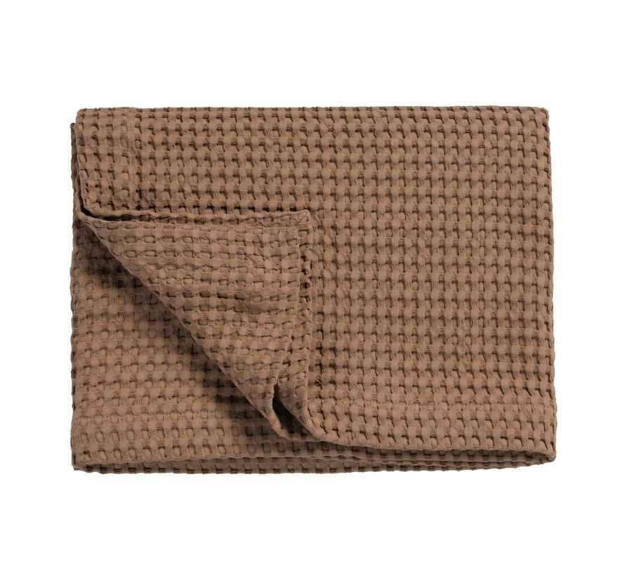 HOME Pique waffle blanket 160x250 cm Brownie (BLMK16101)
