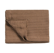 Vandyck HOME Pique waffle blanket 270x250 cm Brownie-168
