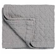 Vandyck PURE 10 plaid/sprei 260x260 cm Steel Grey (katoen)