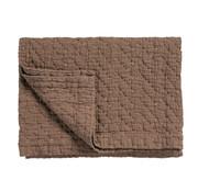 Vandyck PURE 10 throw/bedspread 260x260 cm Brownie (cotton)
