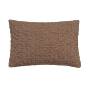 Vandyck PURE 10 pillowcase 40x55 cm Brownie (cotton)