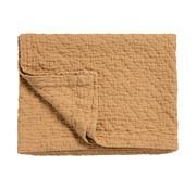 Vandyck PURE 10 plaid/bedspread 180x260 cm Toffee (cotton)