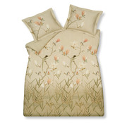 Vandyck Duvet cover MAGNOLIA SKY Natural 240x220 cm (satin cotton)