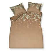 Vandyck Duvet cover SPARKLING Praline 140x220 cm (satin cotton)