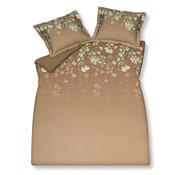 Vandyck Duvet cover SPARKLING Praline 240x220 cm (satin cotton)