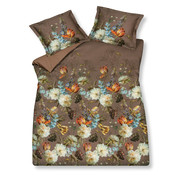 Vandyck Duvet cover SYMPHONY Brownie 200x220 cm (satin cotton)