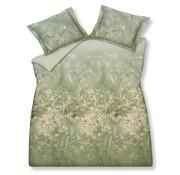 Vandyck Duvet cover WILD GRASS Olive 140x220 cm (satin cotton)