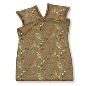 Vandyck Duvet cover WINTERSWEET Brownie 140x220 cm (satin cotton)