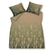 Vandyck Duvet cover CHARMING HAZEL Olive 200x220 cm (satin cotton)