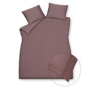 Vandyck Duvet cover PURE 07 Brownie 140x220 cm (linen / satin cotton)