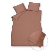 Vandyck Duvet cover PURE 07 Toffee 140x220 cm (linen / satin cotton)