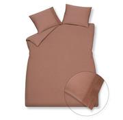 Vandyck Duvet cover PURE 07 Toffee 200x220 cm (linen / satin cotton)