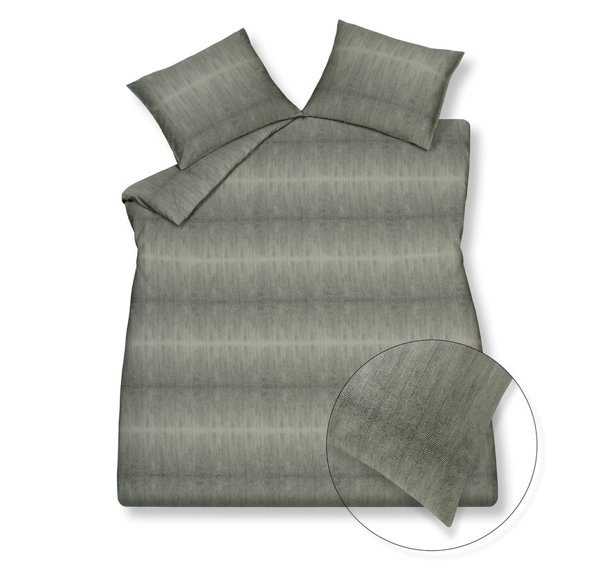 Duvet cover PURE 59 Smoke Green 140x220 cm (satin cotton) PRSA21259