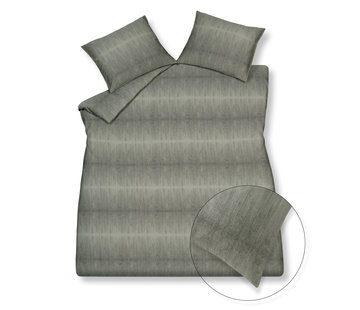 Vandyck Duvet cover PURE 59 Smoke Green 240x220 cm (satin cotton)