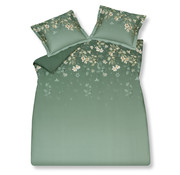 Vandyck Duvet cover SPARKLING Vintage Green 200x220 cm (satin cotton)