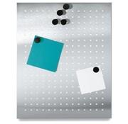 Blomus MURO magnetkort 50x40 cm med huller (mat)