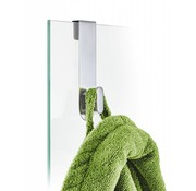 Blomus AREO gancho para pared de vidrio 6-8 mm (mate)