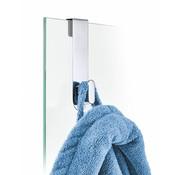 Blomus AREO gancho para pared de vidrio 6-8 mm (brillo)