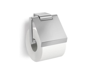 ZACK ATORE toiletrolhouder met klep (mat)