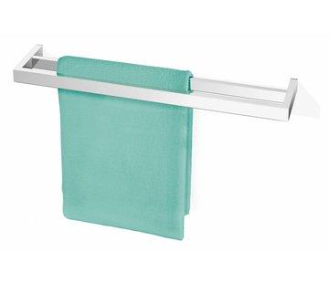 ZACK LINEA håndklædestativ 2 stænger (glans)