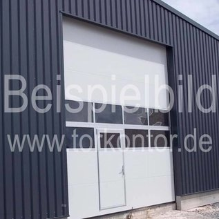 Industrie Sektionaltor für eine lichte Durchfahrtsbreite bis 3500 mm