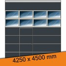 Torkontor ISO 40 Industrie Sektionaltor 4250 x 4500 mm mit Schlupftür