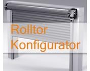 Stahl-Rolltor Konfigurator