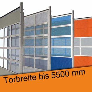 Industrie Sektionaltor für eine lichte Durchfahrtsbreite bis 5500 mm