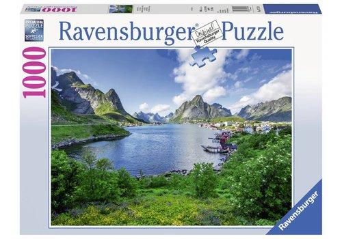 De Lofoten in Noorwegen - 1000 stukjes