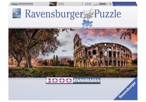 Ravensburger Colisée dans la soirée rouge - 1000 pièces