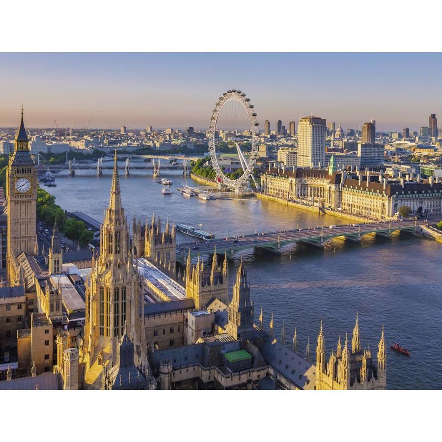 Londen vanuit de lucht - puzzel van 2000 stukjes-2