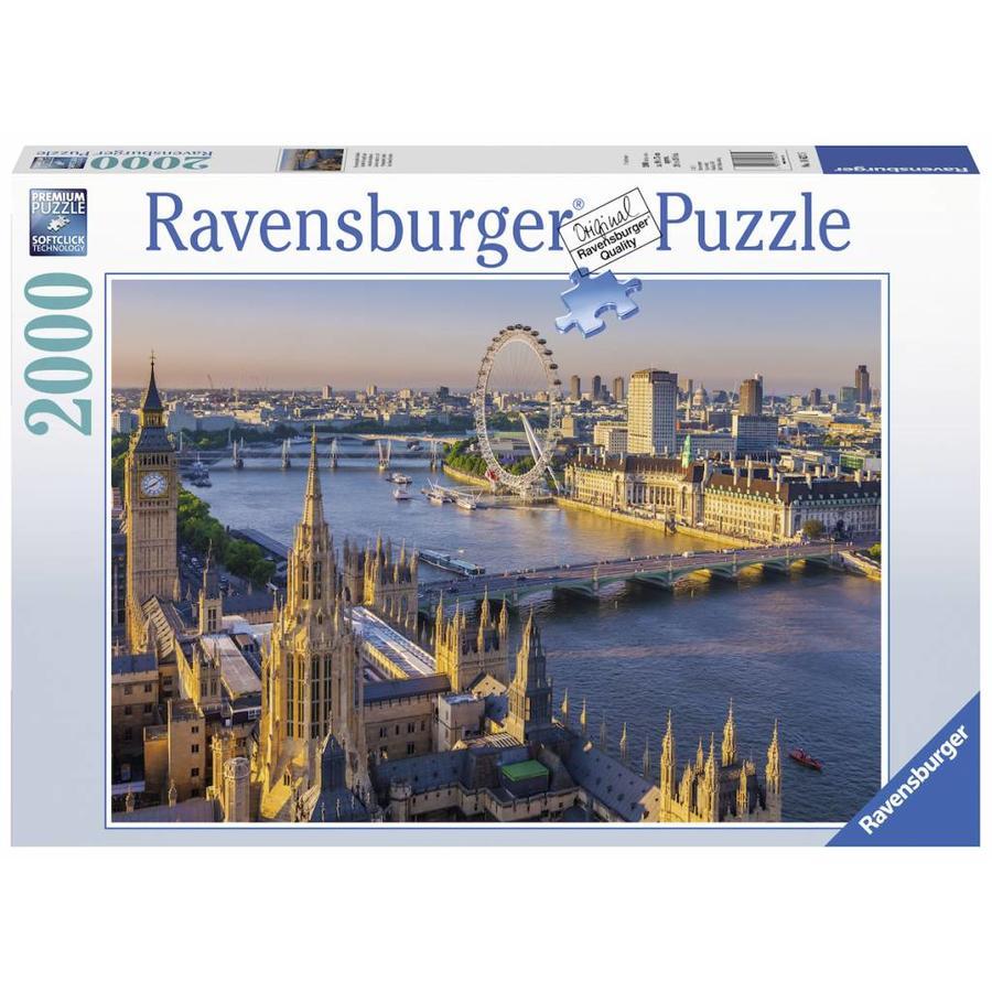 Londen vanuit de lucht - puzzel van 2000 stukjes-1