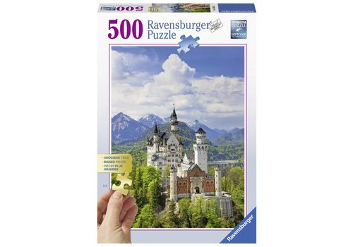 Château féerique Neuschwanstein - 500 pièces XXL