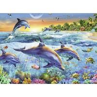 thumb-Dolfijnenbaai - puzzel van 500 stukjes-2
