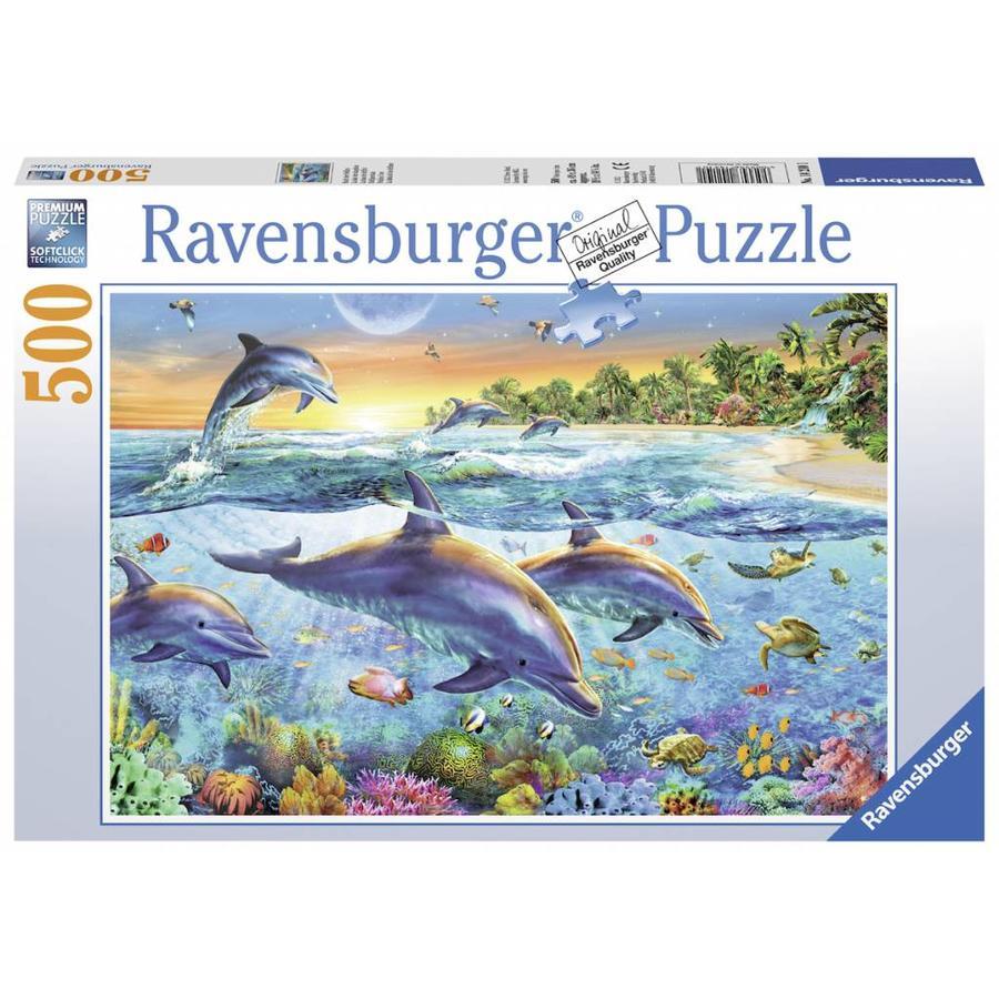 Dolfijnenbaai - puzzel van 500 stukjes-1