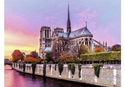 Picturesque Notre Dame - 1500 pieces