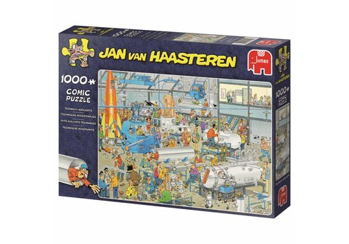 Technical High Performance - JvH - 1000 pieces