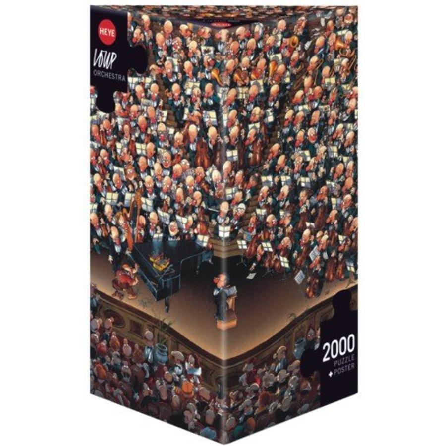 Het orkest - Loup - puzzel van 2000 stukjes-2