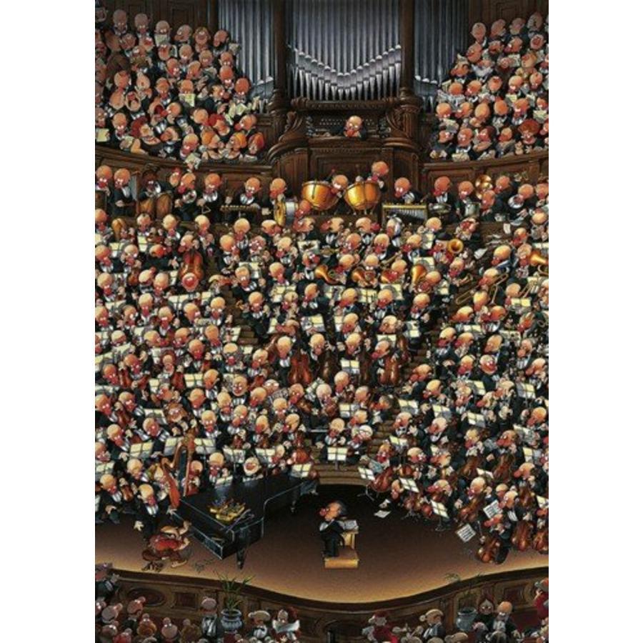 Het orkest - Loup - puzzel van 2000 stukjes-1