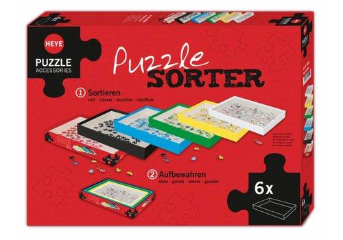Plateaux de tri - jeu de 6 boîtes