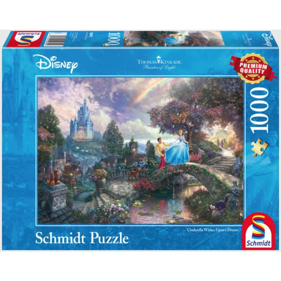 Cendrillon - Thomas Kinkade - puzzle de 1000 pièces-2