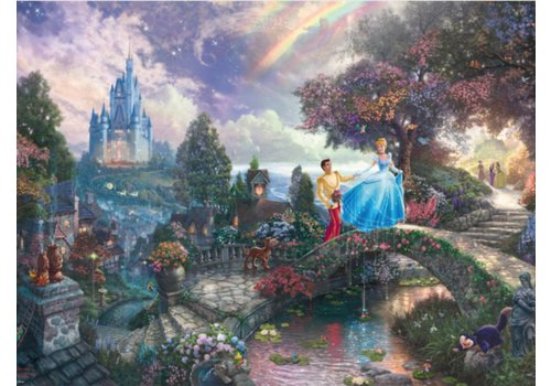 Cinderella - Thomas Kinkade - 1000 pieces